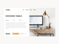 E-Commerce Wooden Furniture