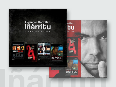 Innaritu - DVD Cover old work dvd cover design graphic biutiful babel iñárritu gonzález alejandro