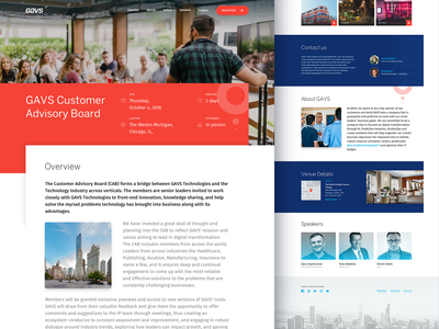 One Pager Event Website onepager web design location speaker schedule board event onepage
