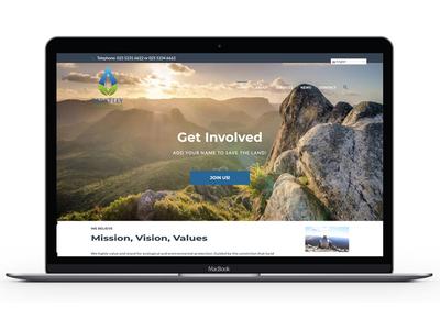 Berkeley Environmental homepage design homepage design marketing social media website