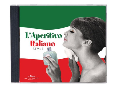 L'Aperitivo Italiano Style typography packaging print collateral illustration design marketing