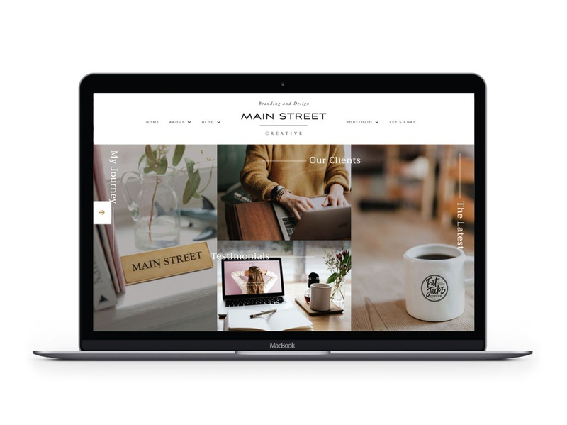 Main Street Graphics illustration packaging brochure business cards marketing social media print collateral website branding logo