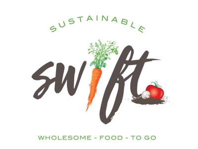 Swift vector mark illustration branding logo