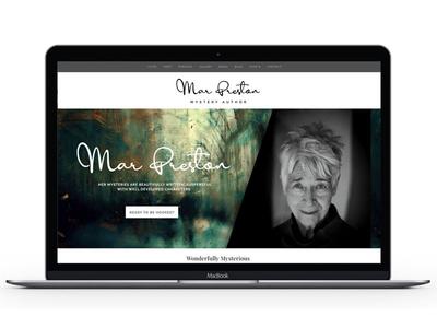 Mar Preston wordpress typography illustration design mark marketing website branding logo