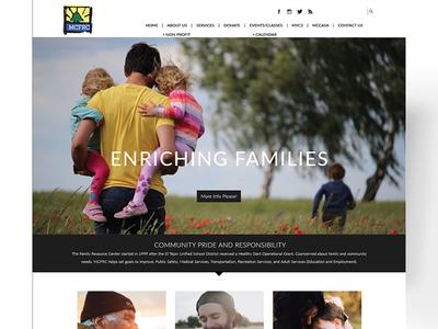MCFRC brochure social media social print design marketing print collateral website branding