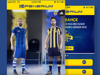 Fenerium Mobile App since 2014