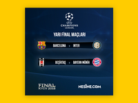 Champions League Facebook Post