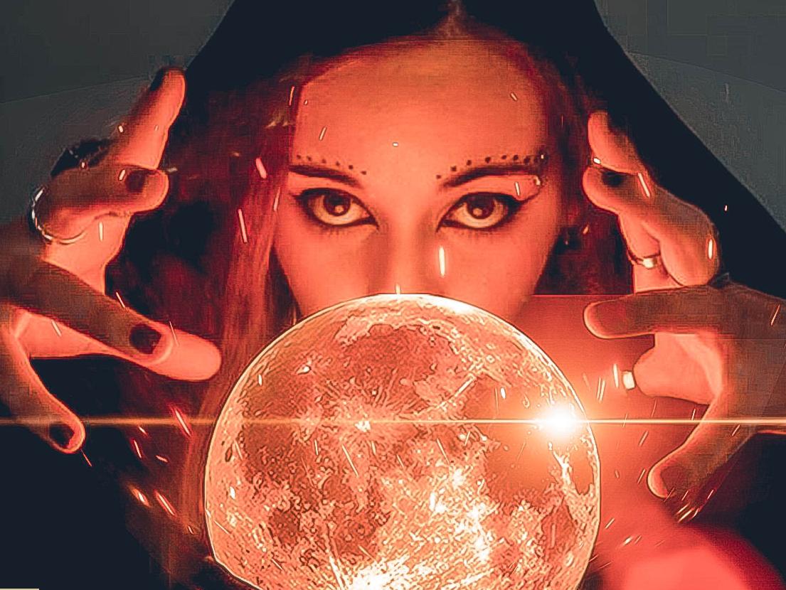 Magic is Real photography digital imaging digital art manipulation surealism sparks witch woman magic moonlight moon photoshop photoshop art