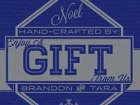 Christmas Gift Stamp