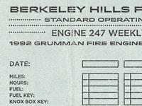 Engine 247 Checklist