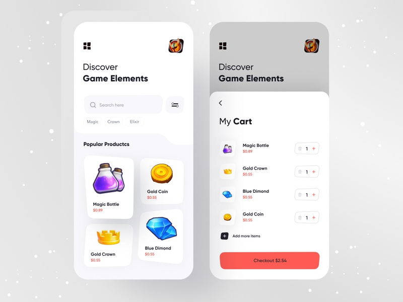 Product/Shopping app typography product page product cart shopping bag mufidul shopping shopping cart product design uxdesign uidesign minimal figma application appdesigner app design app concept
