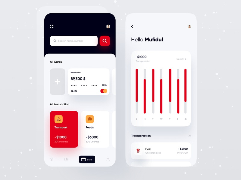 Finance app minimal finance business typography uidesign uxdesign product design application appdesigner app design app concept debit card transaction personal finance bank app fintech app dashboad analytics tracker budget finance