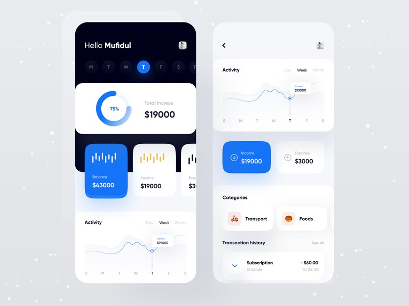 Finance app education analytics dashboard business financeapp finance dashboad budget bank app application personal finance analytics chart tracker product design transaction typography uidesign uxdesign app design app concept analytics