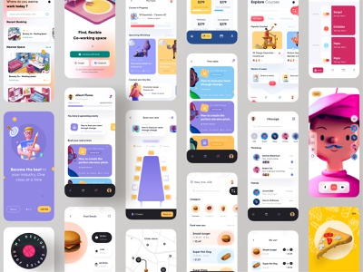 My design series 2020 product design food app real estate realestate mobile app learning platform learning app reading app student online school courses class design system edtech education e-learning event app user experience design userinterface user experience ux