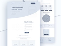 Wireframe For Techno Landing Page