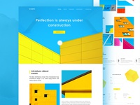Landing page - Architecture firm exploration