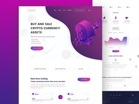 Crypto Currency Retail Landing Page