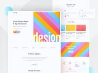 Design Agency - Homepage