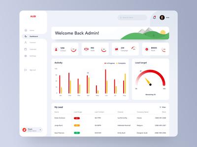 Customer-relationship management Dashboard