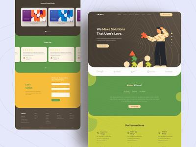 Creative Agency hiwow homepage product design header 2020 trending design trend 2019 agency typography minimal landingpage uidesign uxdesign websitedesign webdesign