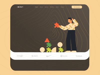 Interactive – Creative agency website
