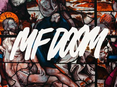 Lettering & Calligraphy | MF DOOM mfdoom hiphop sketch logo brush handwriting logotype calligraphy lettering