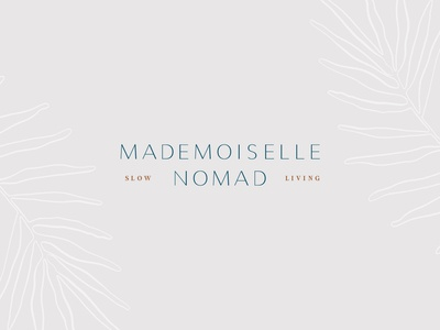 Mademoiselle Nomad Brand Refresh Primary Logo