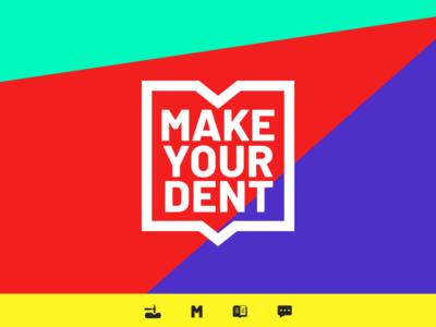 Make Your Dent Logo