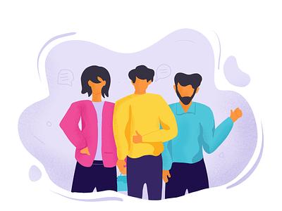 The era of millennials #corporate #employeegifting vector creative illustrator design adobeillustation procreate character design illustration