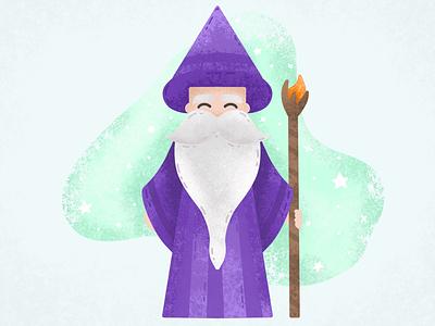 Wizard wizard texture apple pencil ipad pro procreate app illustration graphic design design