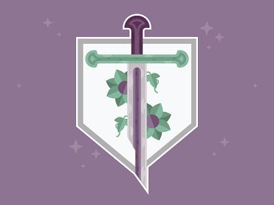 Narsil Sword medieval lord of the rings fantasy sword vector design vector illustration vector graphic design illustration design