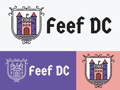 Feef DC Logo logo design logo branding vector graphic design illustration design