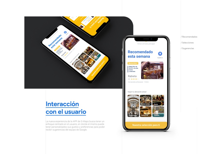 Google Maps - UX UI redesign app design website web branding product uxdesign ux uiux ui mobile ui maps google maps google mobile figma app