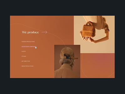 ABROD – branding / Web design gradient editorial branding typography minimal site aesthetics web design website ux ui beauty fashion