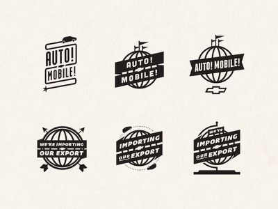 Chevy Concepts flags worlds fair chevy automobile vintage globe