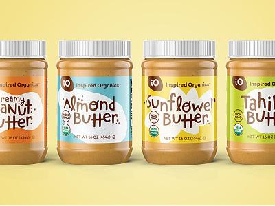Peanut Butter & Friends spring light pastel yum packaging jars butter peanut io