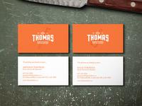 Thomas Bros Business Cards