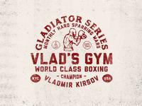 Gladiator Series - Sparring Wars Badge