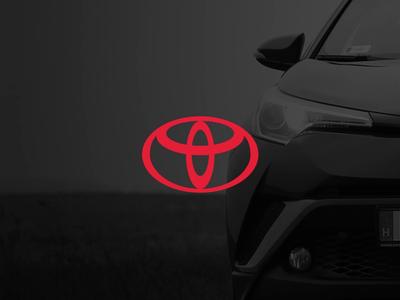Toyota logo animation icons design branding icon app vector gif animation tool flow render vehicle car toyota logo motion