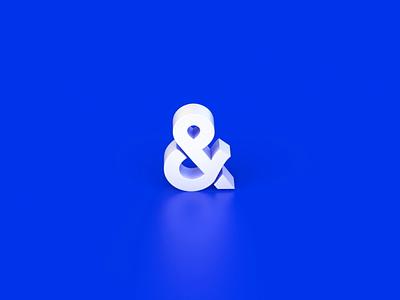 5k &more shape number five 5 loop animation blue texture surface 3d motion logo