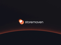 Storemaven movie logo branding light space eclipse planet aftereffects cinema4d movie vector animation design motion