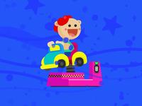 Kiddie Ride animation
