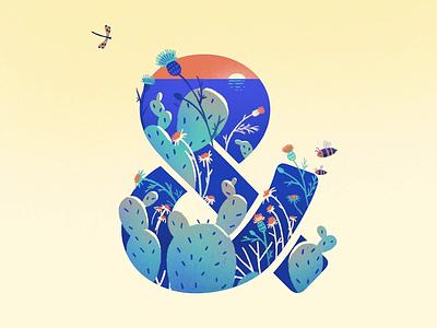 Seasoned & loop season gif motion animation illustration design