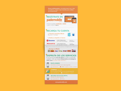 Bifold Brochure app mobile payments fintech branding illustration infographic brochure flyer print