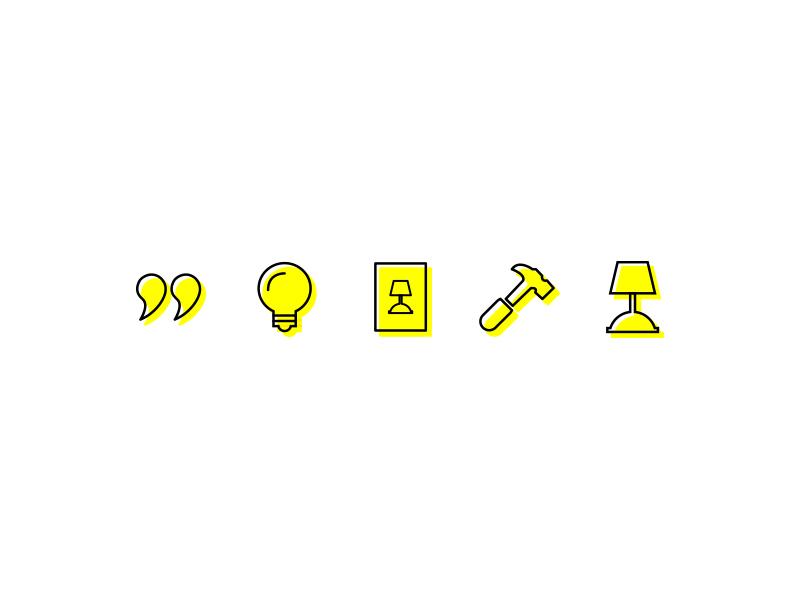 Isolinamallon icons