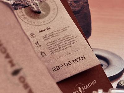 Bow Tie Label bow ties label print typography brand logo identity branding