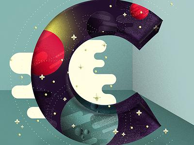 36 Days of Type: C c illustration typography type 36daysoftype