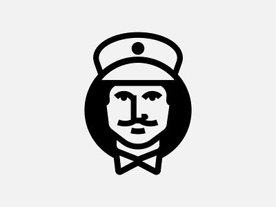 Mailman Logo Proposal logo mark man face facelogo mailman symbol icon logotype