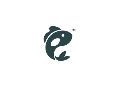 Piscis Logo fish icon fish logo symbol logo icon fish graphic geometric design swim branding brand