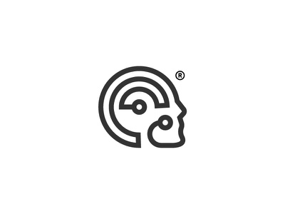 Robotics icon logo symbol design robot bot electric ai automation robotics